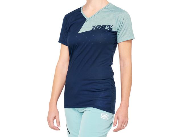 100% Airmatic Jersey Women navy/seafoam